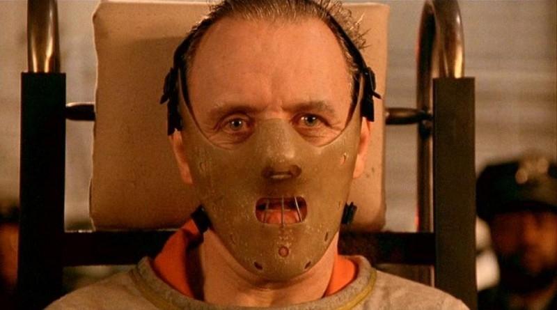 Anthony Hopkins in una scena de IL SILENZIO DEGLI INNOCENTI