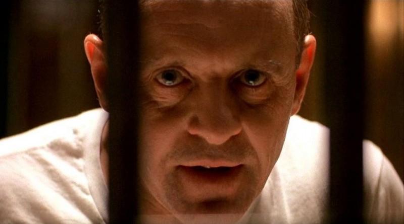 Anthony Hopkins in una scena de IL SILENZIO DEGLI INNOCENTI (1992)