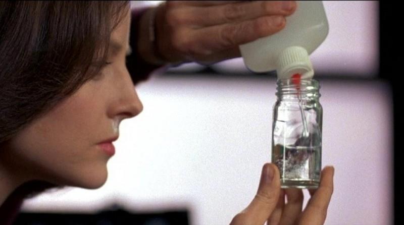 Jodie Foster nel ruolo di Clarice Starling nel thriller IL SILENZIO DEGLI INNOCENTI