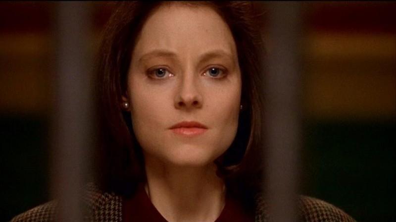 Jodie Foster è l'agente Starling ne IL SILENZIO DEGLI INNOCENTI