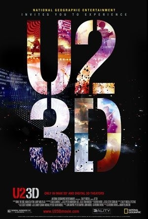 La locandina di U2 3D