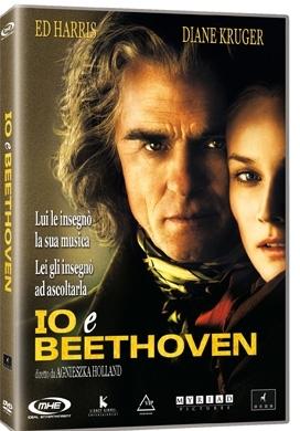 La copertina DVD di Io e Beethoven