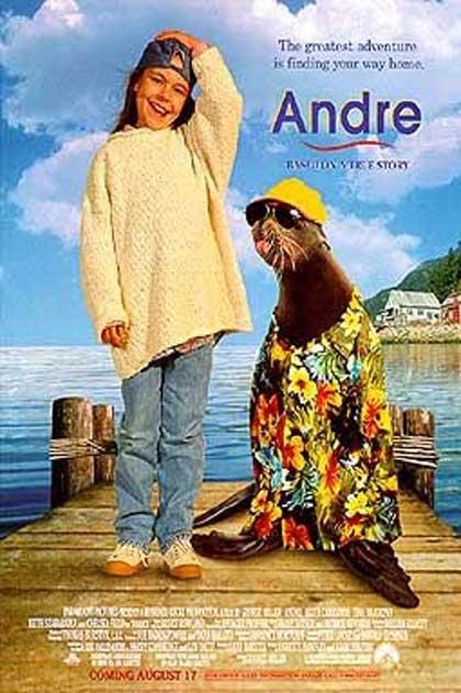 La locandina di André