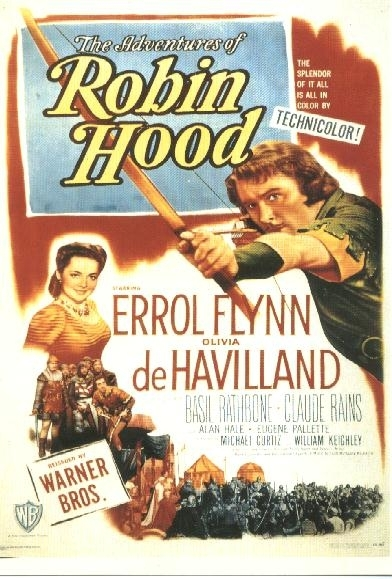 La locandina di La leggenda di Robin Hood