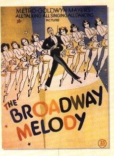 La locandina di La canzone di Broadway