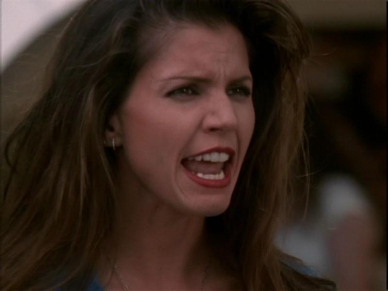 La rabbia di Charisma Carpenter nell'episodio 'Il desiderio' di Buffy - L'ammazzavampiri