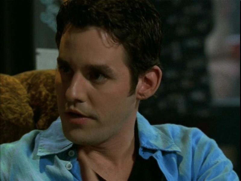 Nicholas Brendon in una scena dell'episodio 'Il desiderio' di Buffy - L'ammazzavampiri