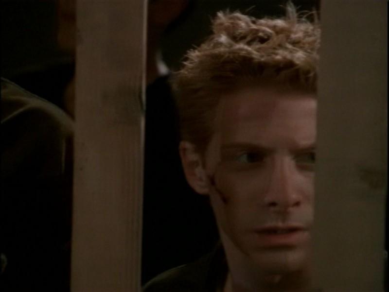 Seth Green in una scena dell'episodio 'Il desiderio' di Buffy - L'ammazzavampiri