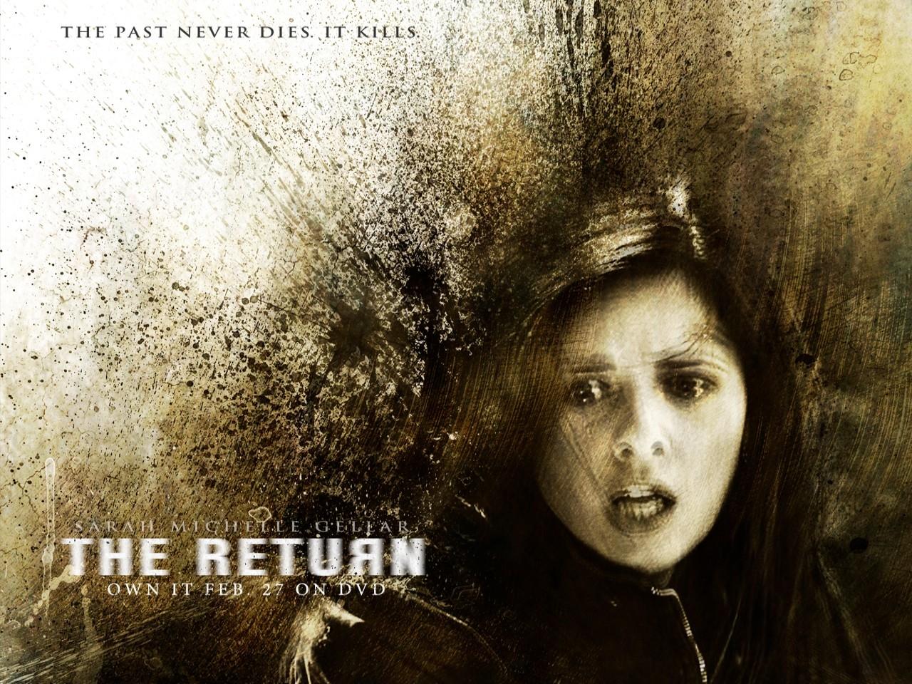 Wallpaper del film L'incubo di Joanna Mills - The Return con Sarah Michelle Gellar