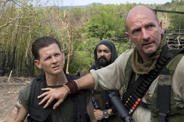 Jake LaBotz, Rey Gallegos e Graham McTavish  in una scena di John Rambo