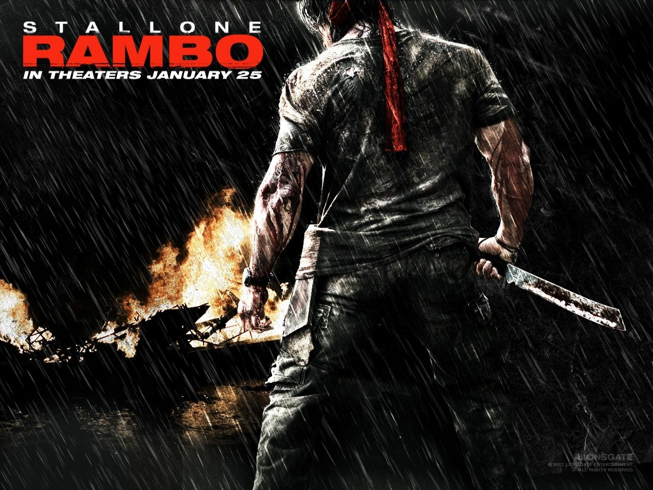 Wallpaper del film John Rambo