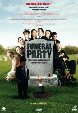 La copertina DVD di Funeral Party