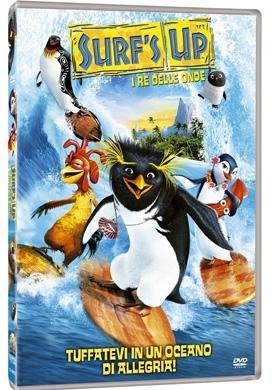 La copertina DVD di Surf's Up - I re delle onde
