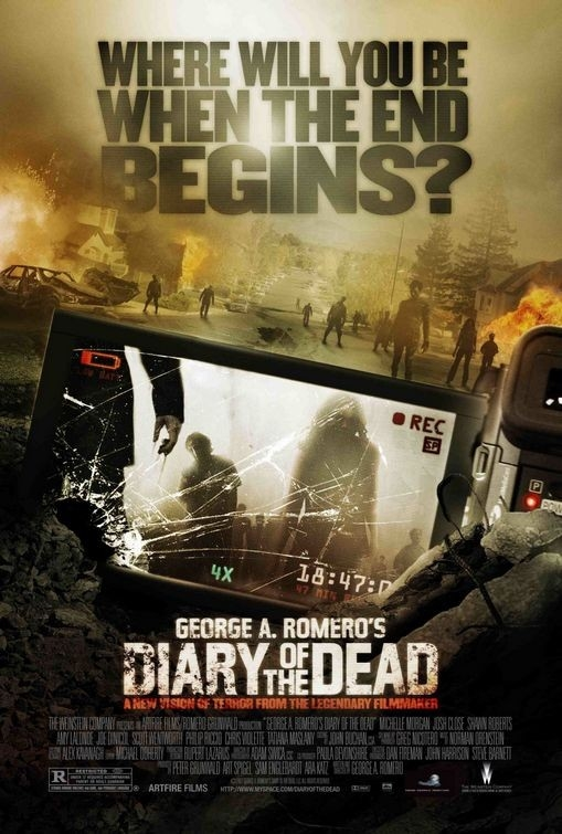 La locandina di Diary of the Dead
