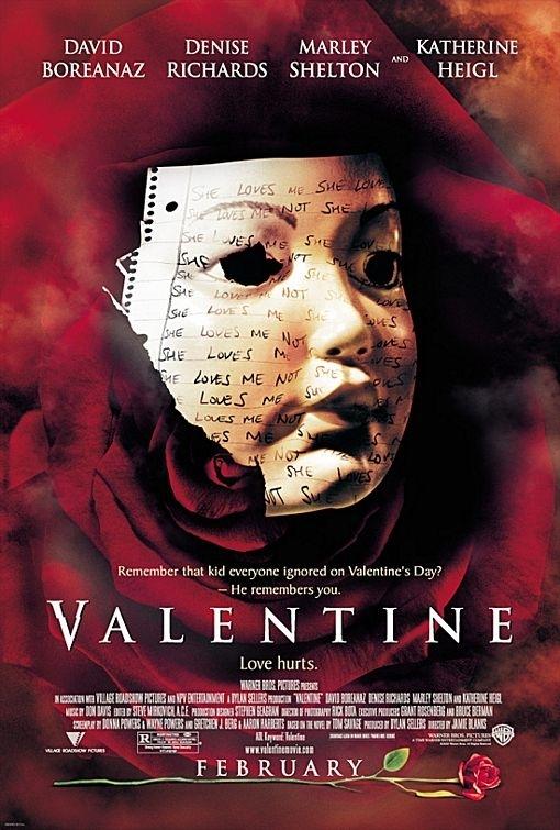 La locandina di Valentine - Appuntamento con la morte