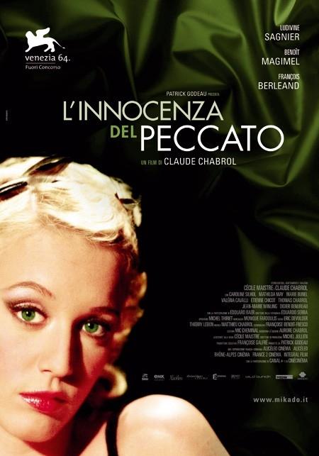 La locandina italiana di L'innocenza del peccato