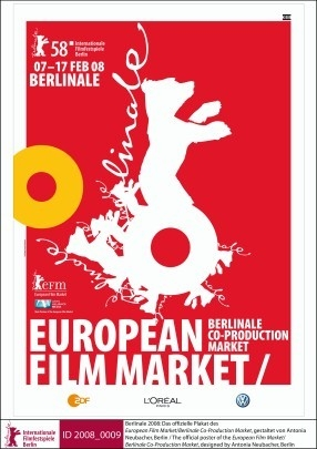 Berlinale 2008: il manifesto dell'European Film Market