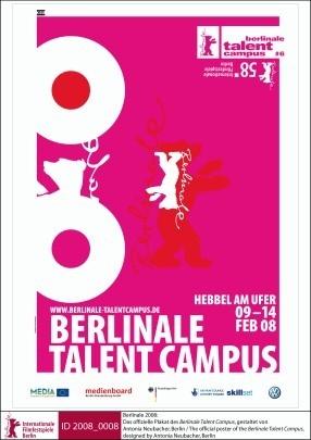 Berlinale 2008: il manifesto della sezione Talent Campus