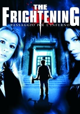 La copertina DVD di The Frightening