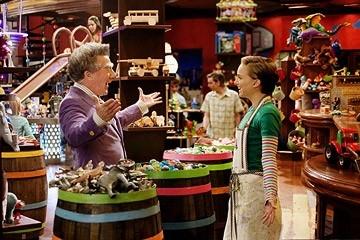 Dustin Hoffman con Natalie Portman in Mr. Magorium e la bottega delle meraviglie