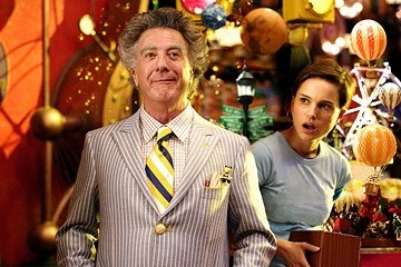 Dustin Hoffman e Natalie Portman in Mr. Magorium e la bottega delle meraviglie