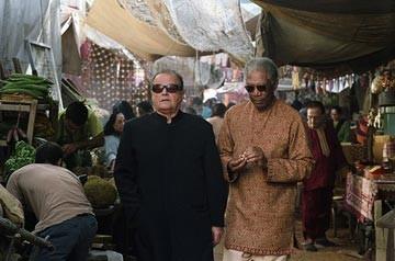 Jack Nicholson con Morgan Freeman in una sequenza di Non è mai troppo tardi