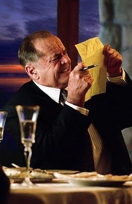 Jack Nicholson è Edward Cole in una sequenza di Non è mai troppo tardi