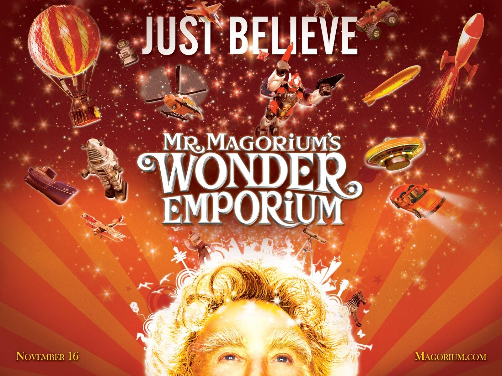 Wallpaper del film Mr. Magorium e la bottega delle meraviglie con Dustin Hoffman