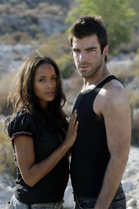 Heroes Volume II - Episodio 6: Sylar (Zachary Quinto) in compagnia di Maya (Dania Ramirez)