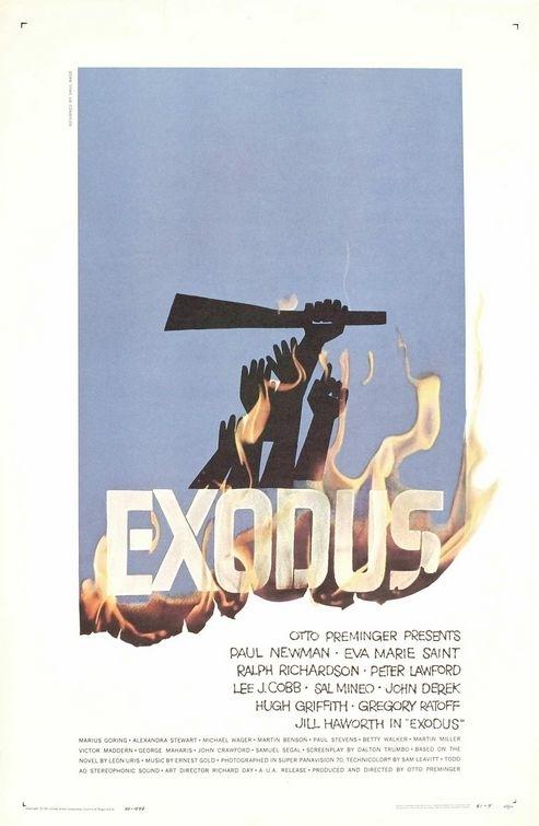 La locandina di Exodus