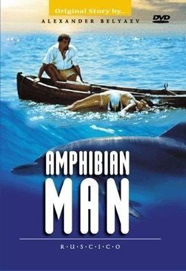 La locandina di L'uomo anfibio