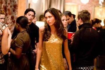 Odette Yustman in una scena di Cloverfield