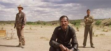 Daniel Day-Lewis in una scena de Il petroliere