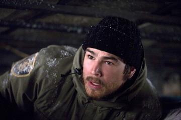 Josh Hartnett in una sequenza dell'horror 30 giorni di buio (30 Days of Night)