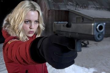 Un'immagine di Melissa George nell'horror 30 giorni di buio