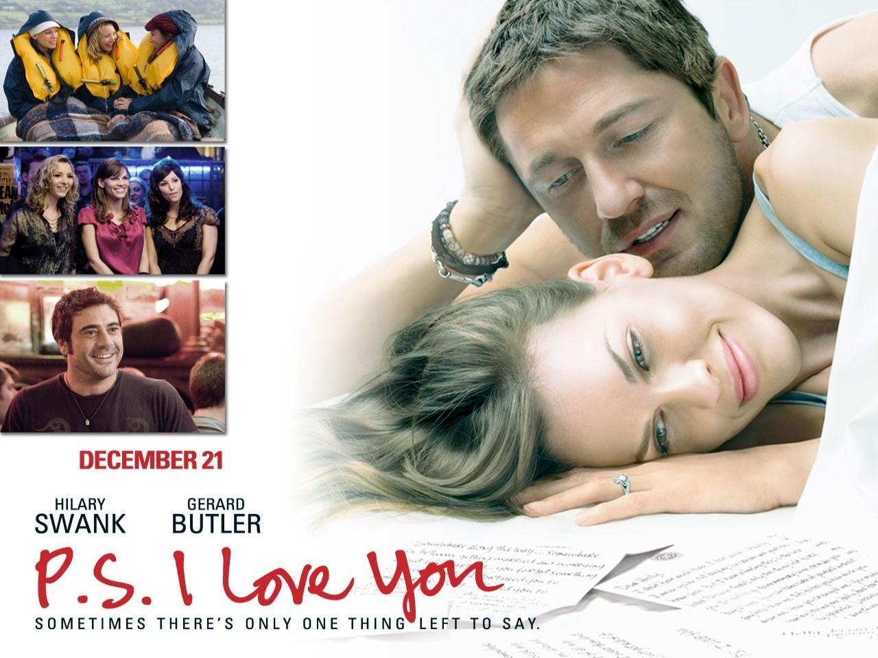 Wallpaper del film P.S. I Love You - Non è mai troppo tardi per dirlo con Butler e la Swank