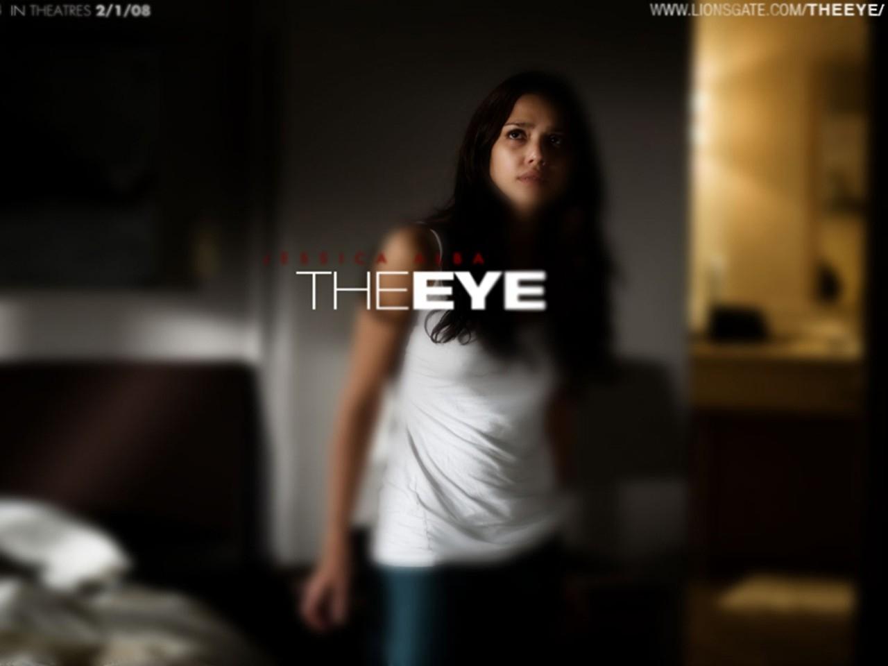 Wallpaper del film The Eye con Jessica Alba