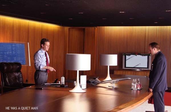 Christian Slater e William H. Macy in una sequenza del film Un uomo qualunque