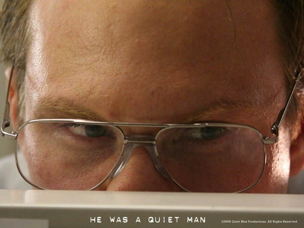 Christian Slater in una scena del dramma Un uomo qualunque