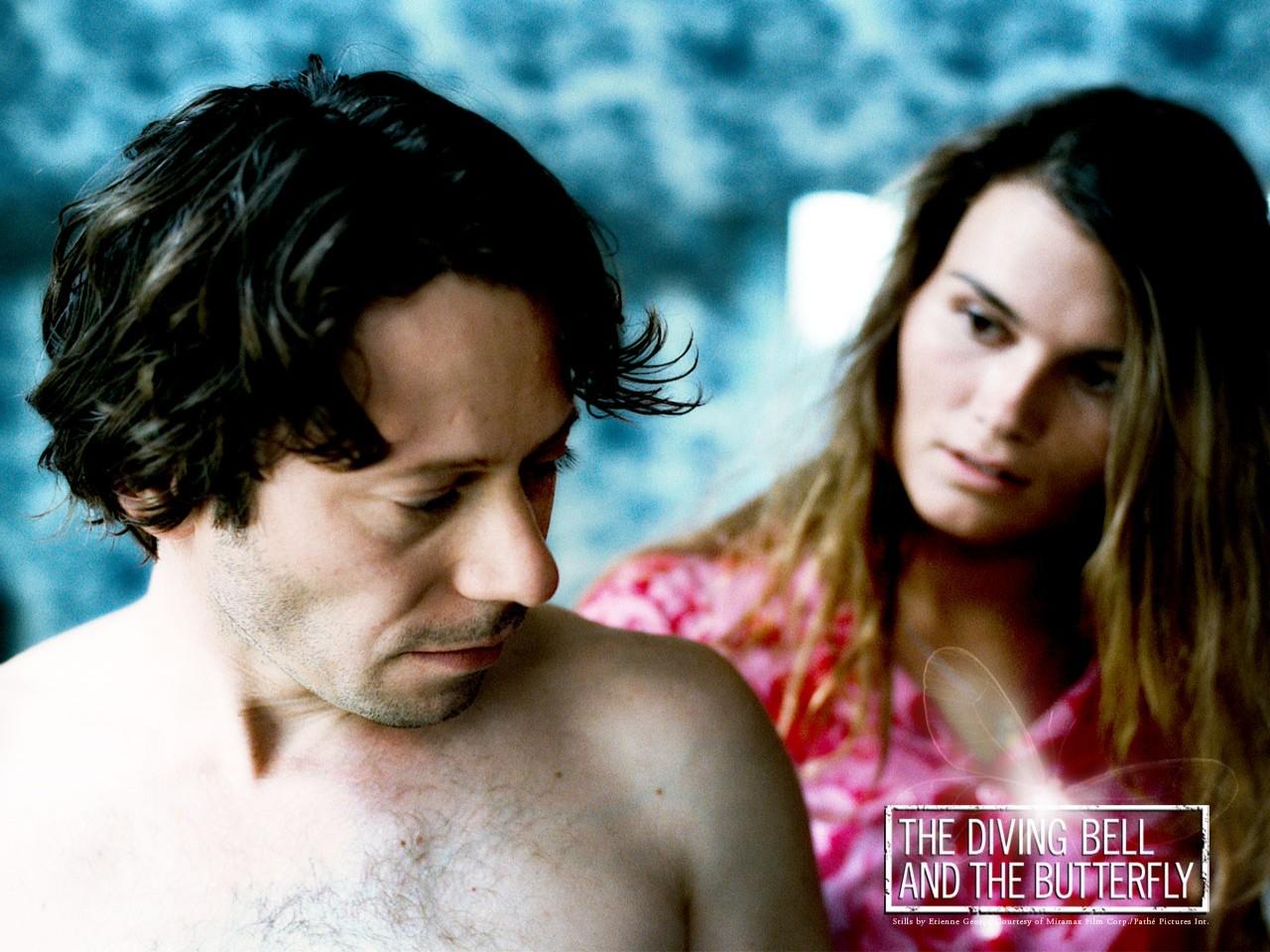 Wallpaper del film Lo scafandro e la farfalla