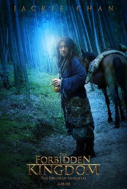 Character poster per Jackie Chan e il film The Forbidden Kingdom