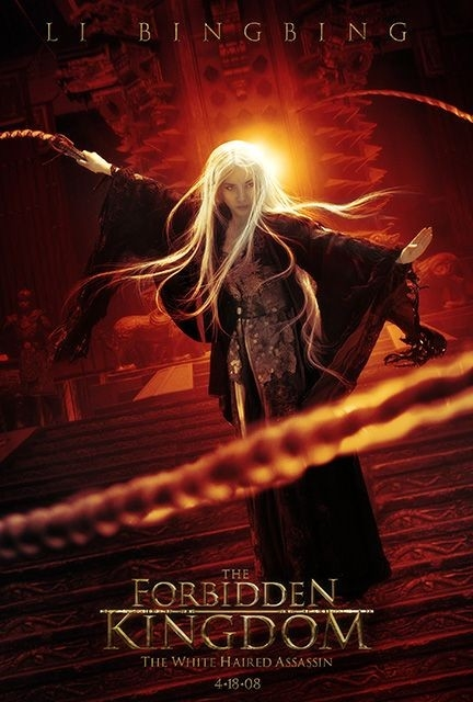 Character poster per Li Bingbing e il film The Forbidden Kingdom