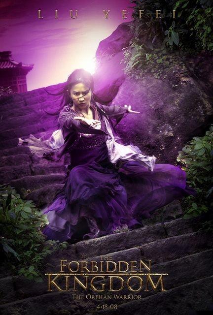 Character poster per Liu Yefey e il film The Forbidden Kingdom