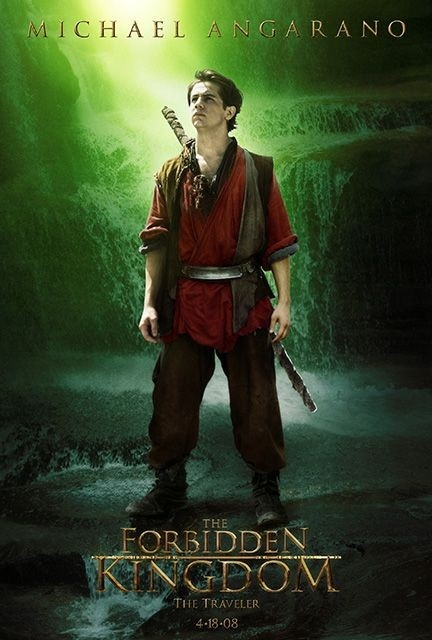 Character poster per Michael Angarano e il film The Forbidden Kingdom