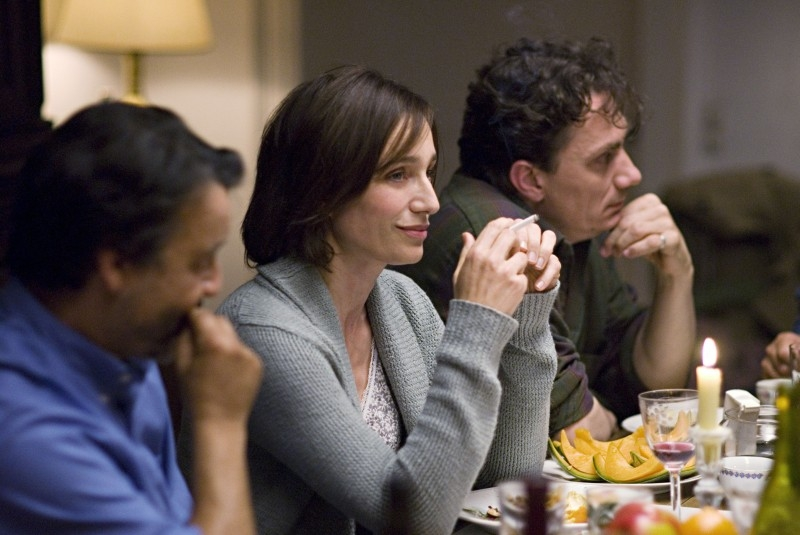 Kristin Scott Thomas e Serge Hazanavicius in una scena di 'I've Loved You So Long'