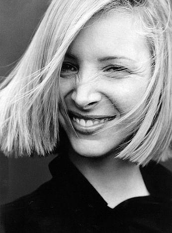 Lisa Kudrow in bianco e nero
