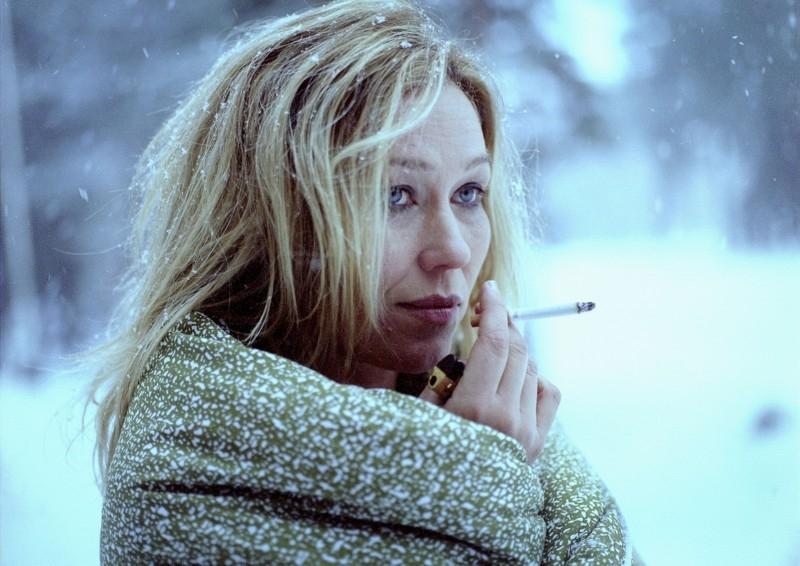 Outi Mäenpää in 'Black Ice'