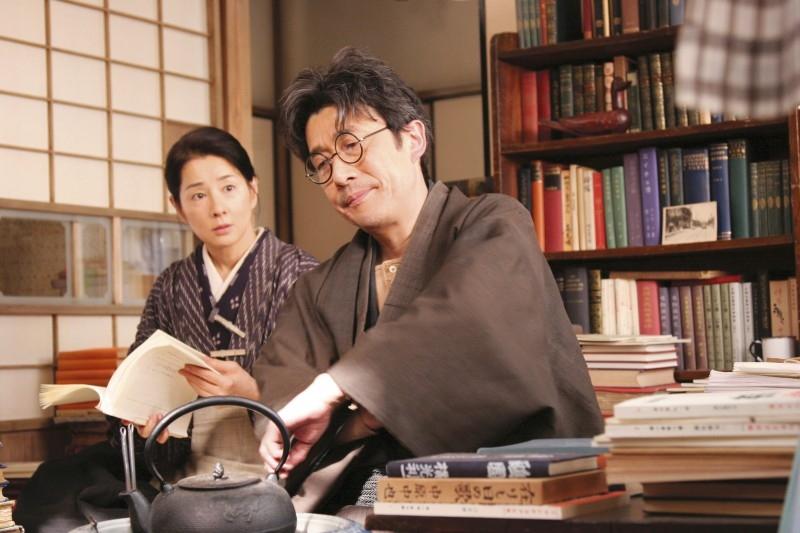 Sayuri Yoshinaga e Mitsugoro Bando in 'Kabei'
