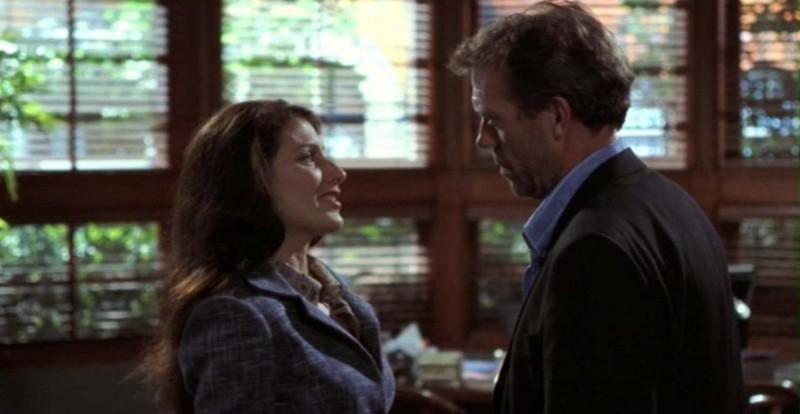 Dr House: Medical division - Una scena del terzo episodio, in cui la dottoressa Cuddy (Lisa Edelstein) e House (Hugh Laurie) hanno un battibecco