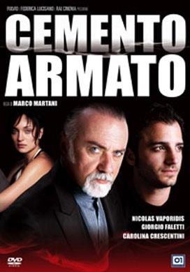 La copertina DVD di Cemento armato
